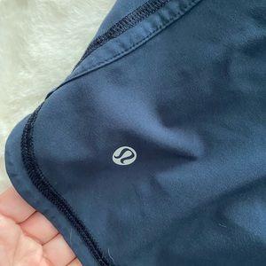 lululemon athletica Shorts - Lululemon Lined Workout Shorts Blue Medium